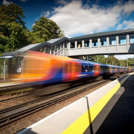 Osborne Complete Work in Record time at Hampshire Train Station