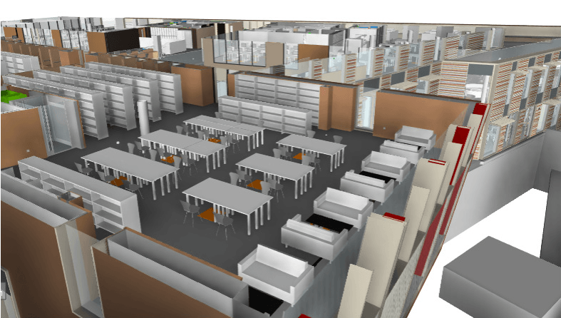 CASE STUDY - BIM Level 2: Royal Holloway University of London Library