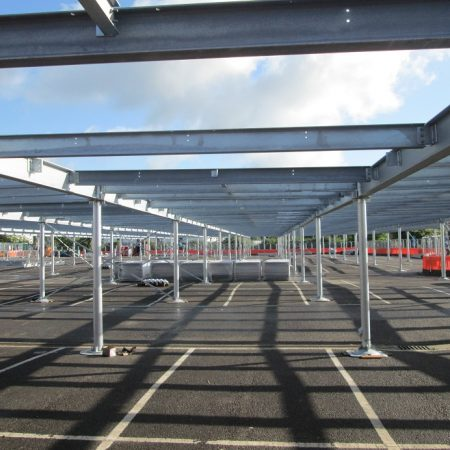 Demountable Modular Car Parks – A speedy, sustainable, space saving solution
