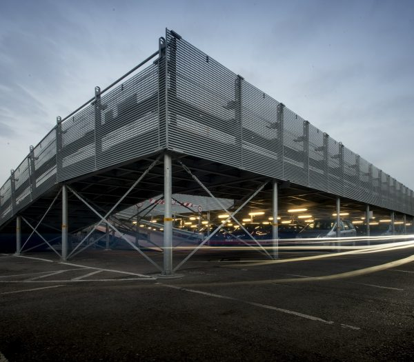 Demountable modular car park