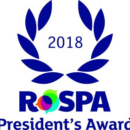 Osborne is a Winner in the RoSPA Awards 2018