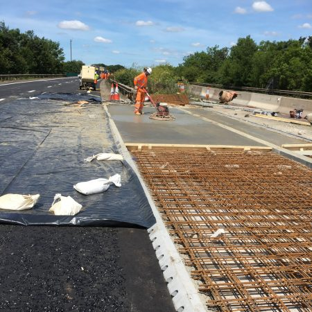 Osborne Complete Work on A14 in Suffolk