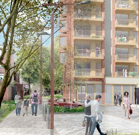 Residential – Andover Estate – Delivering 36 social tenure homes on infill land