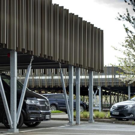 Uxbridge Business Park – Quick, affordable, permanent parking solution