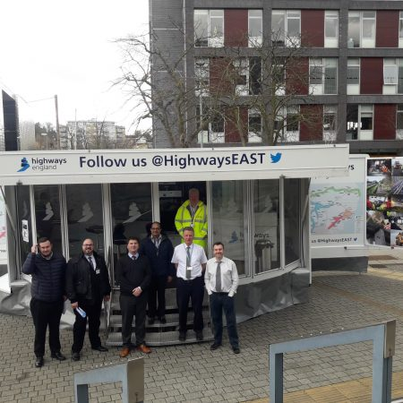 Osborne goes Mobile with Highways England Exhibition Centre