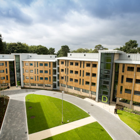Design and Build – Chamberlain Halls Southampton