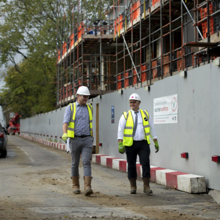 Residential – Managing the build with Covid and close neighbours