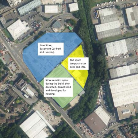 Parking solution enables 1,309 new homes on retail site