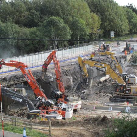 Engaging Stakeholders Reduces Impact – M27 Romsey Road Bridge