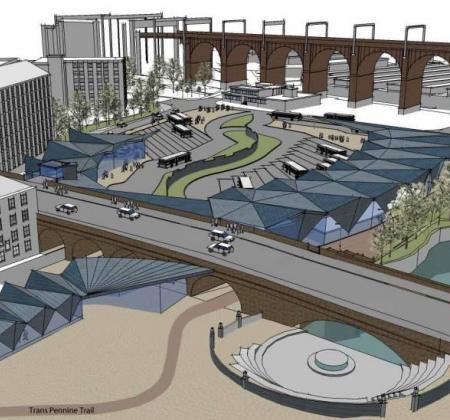 New Town Centre Bridge Link Work Begins