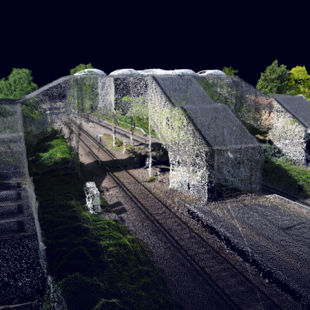 Rail 'AfA' – Sensat – Drones survey 4 stations in just 2 days