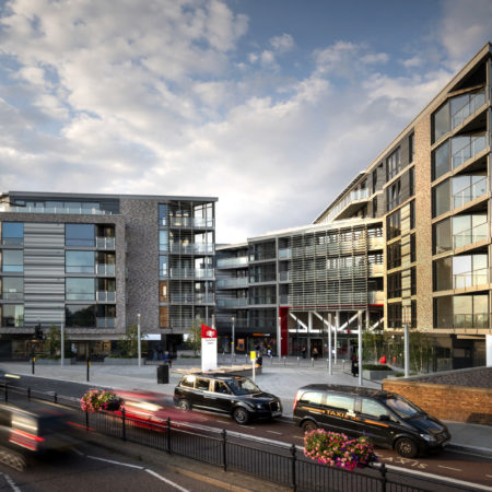 115 New homes created over the mainline railway