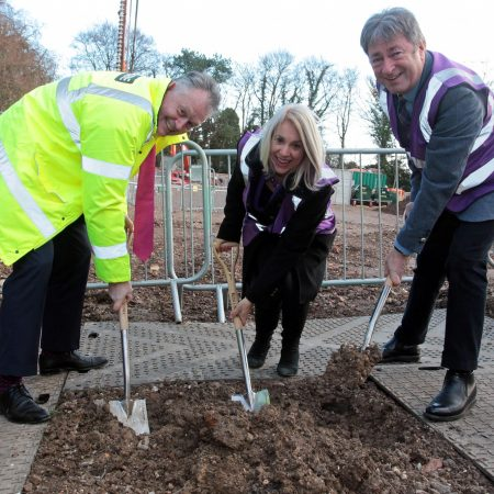 Ground Breaking at the University of Winchester