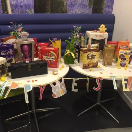 Osborne Organises 'Eggcellent' Event