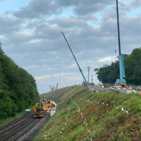Rail Embankment Failures – Four Schemes in One Blockade
