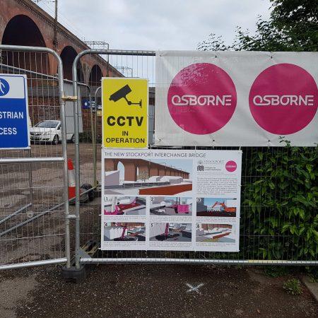 Community Storyboard of Construction Sequence-New Stockport Interchange Bridge