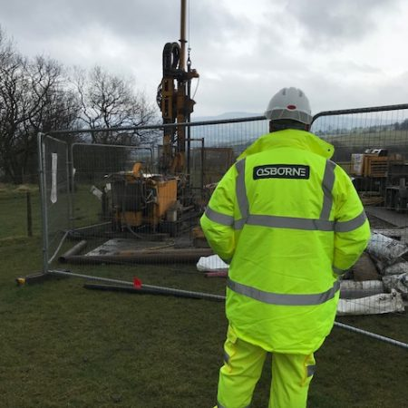 Osborne carries out Highways England Surveys